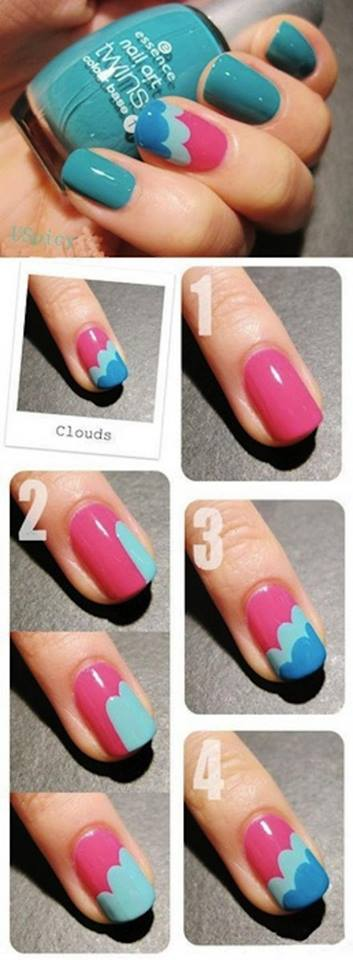 Step by Step Nail Art Picture Tutorial Best and Easy Designs To Try (23)