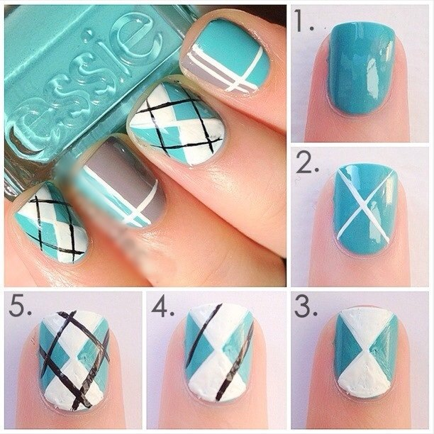 Step by Step Nail Art Picture Tutorial Best and Easy Designs To Try (25)