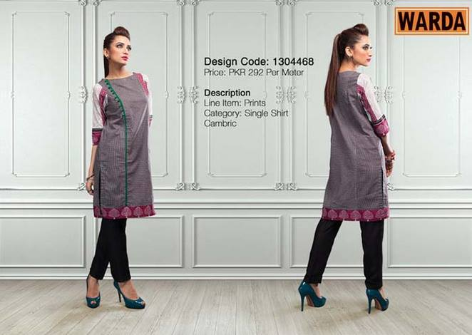 WARDA Designer Ready To Wear Winter Dresses Collection 2014-2015 (12)