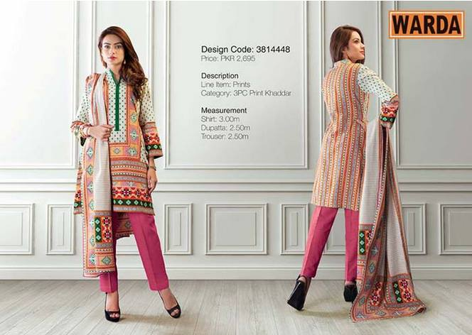 WARDA Designer Ready To Wear Winter Dresses Collection 2014-2015 (15)