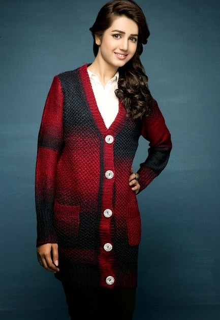 Bonanza Latest Winter Sweaters, Jackets & Coats Collection 2014-2015 for Girls (1)