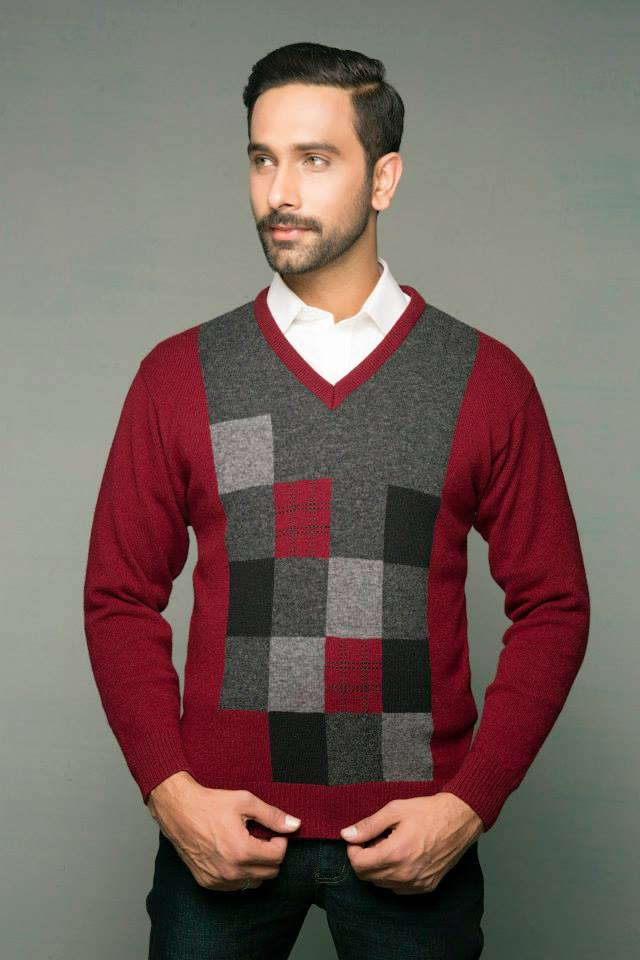 Bonanza Latest Winter Sweaters, Jackets & Coats Collection 2014-2015 for Men & Boys (2)