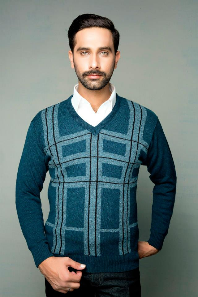 Bonanza Latest Winter Sweaters, Jackets & Coats Collection 2014-2015 for Men & Boys (23)