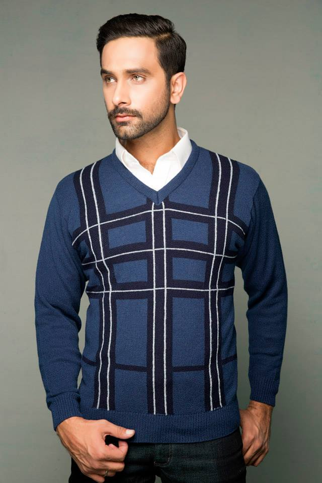 Bonanza Latest Winter Sweaters, Jackets & Coats Collection 2014-2015 for Men & Boys (6)