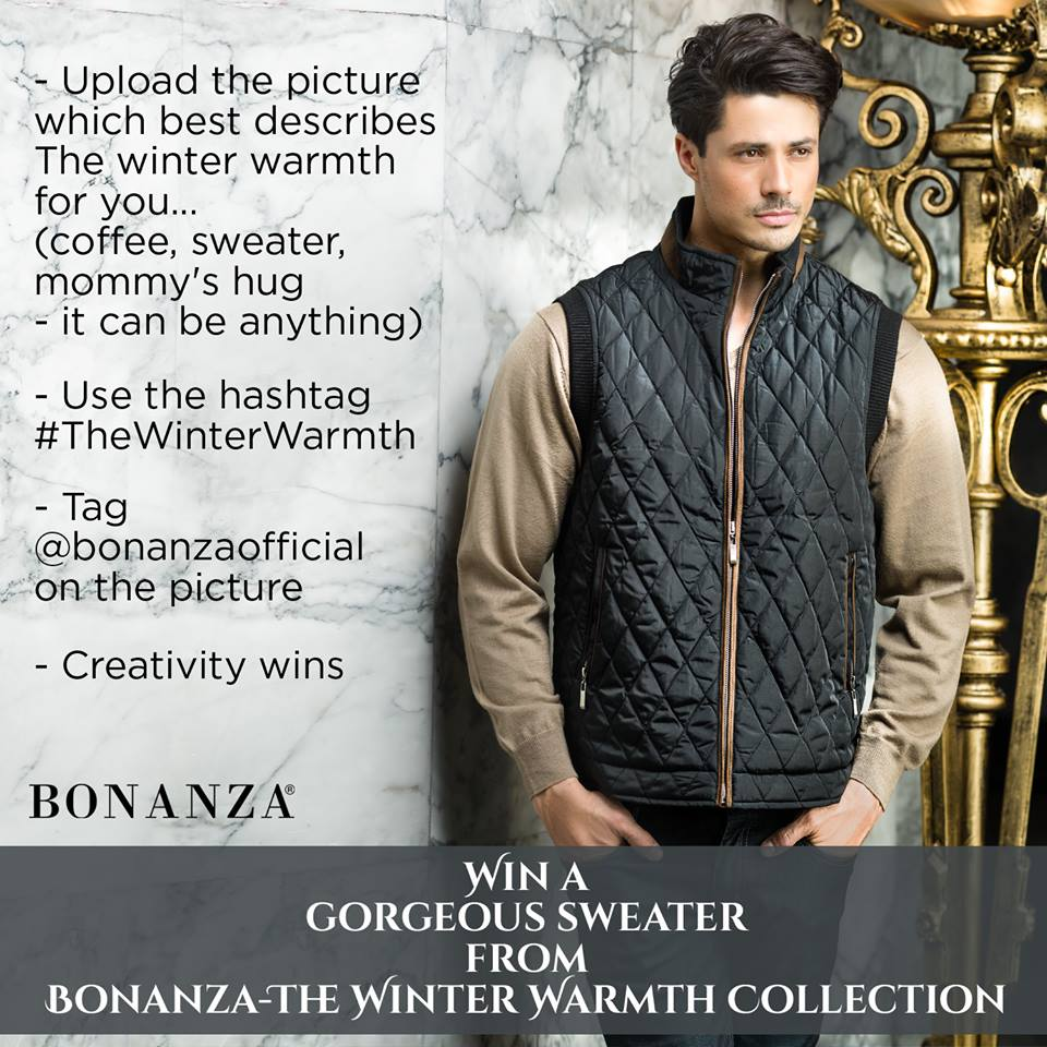Bonanza Latest Winter Sweaters, Jackets & Coats Collection 2014-2015 for Men & Boys (9)