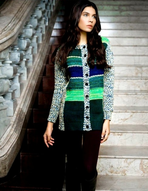 Bonanza Latest Winter Sweaters, Jackets & Coats Collection 2014-2015 for Women & Girls (9)
