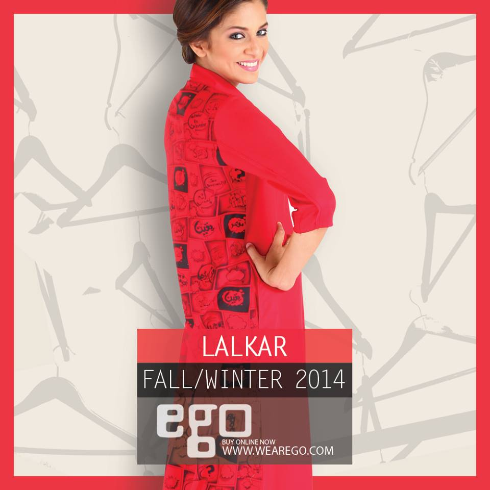 Ego Fall Winter Collection Stylish Dresses for Women 2014-2015 (11)