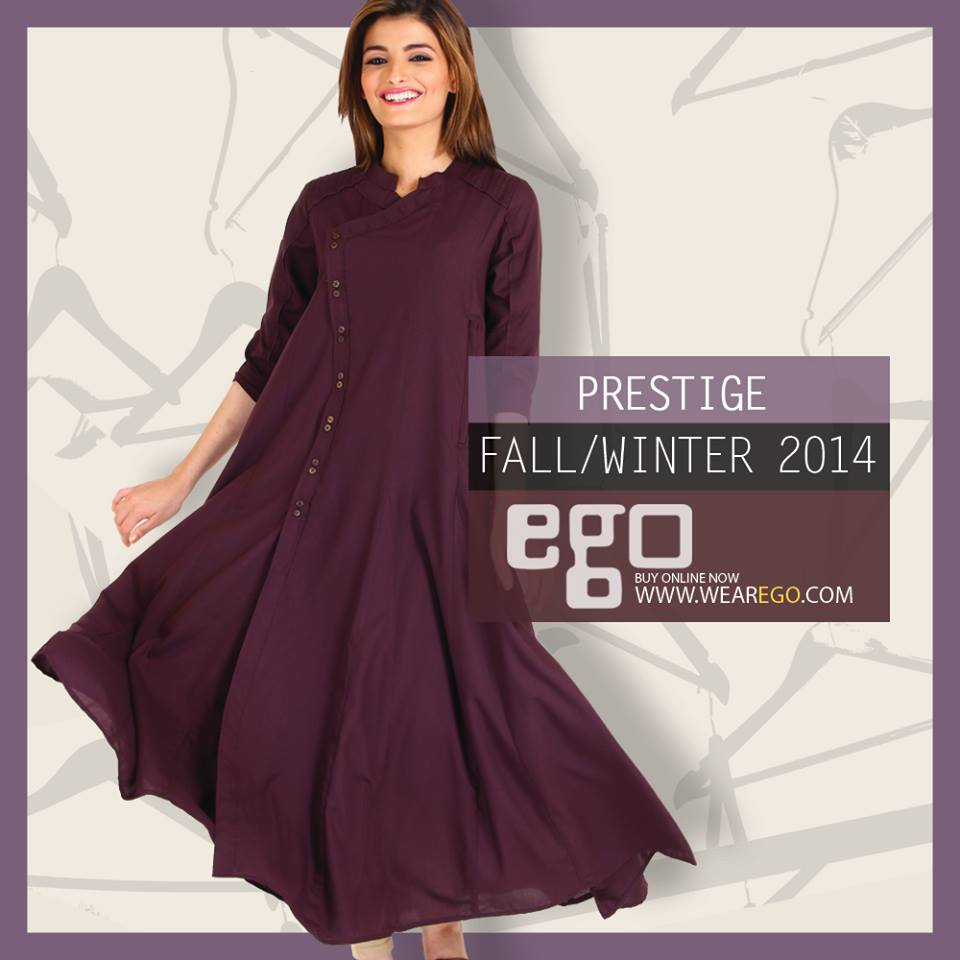 Ego Fall Winter Collection Stylish Dresses for Women 2014-2015 (14)
