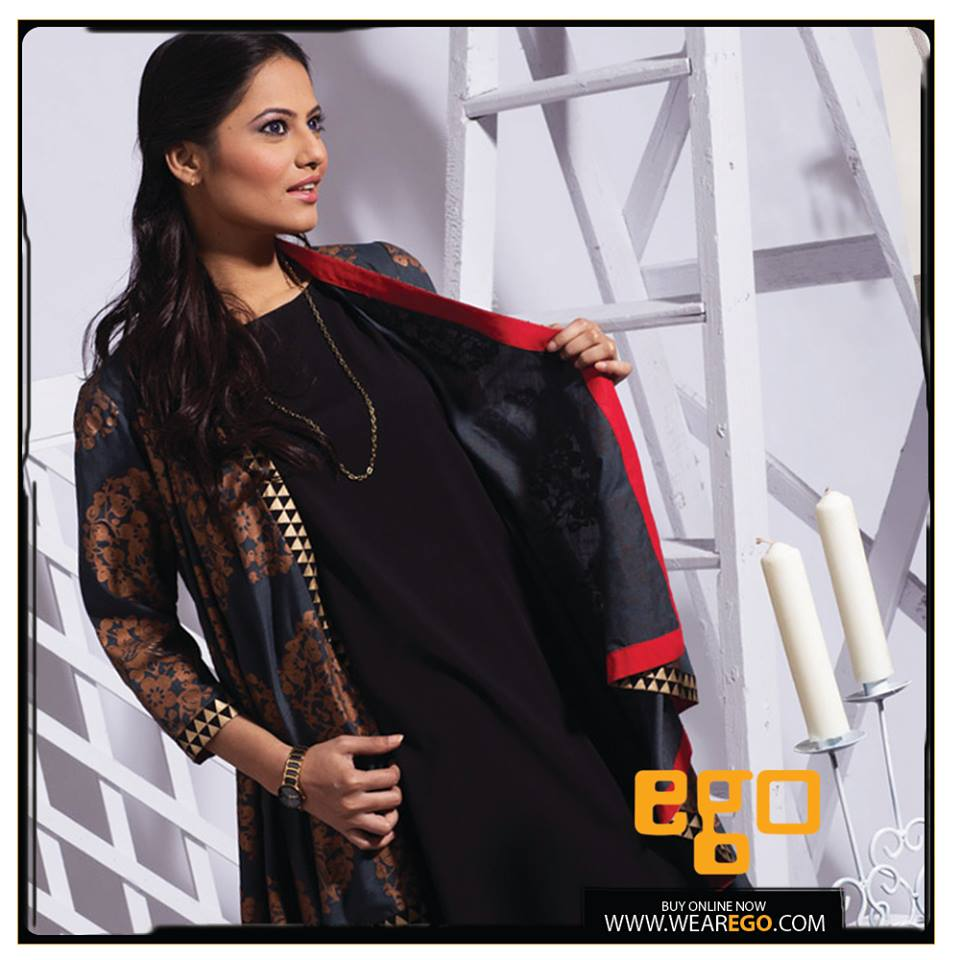 Ego Fall Winter Collection Stylish Dresses for Women 2014-2015 (19)