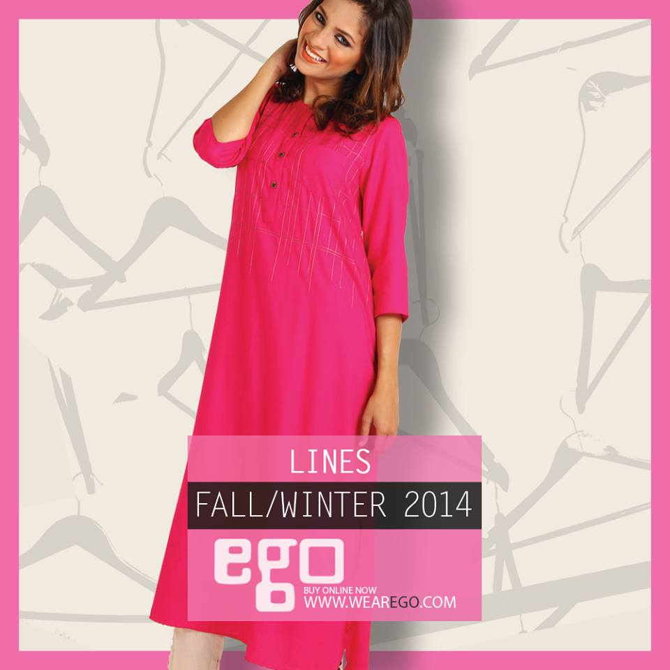 Ego Fall Winter Collection Stylish Dresses for Women 2014-2015 (9)