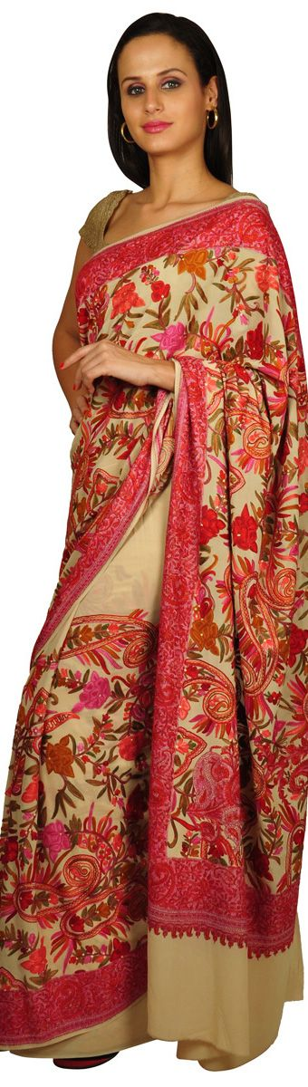 Kashmiri Shawls Collection Latest Winter Designs & Styles for Women 2015-2016 (14)