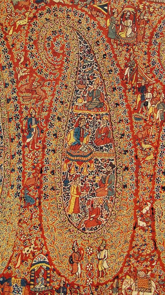 Kashmiri Shawls Collection Latest Winter Designs & Styles for Women 2015-2016 (21)