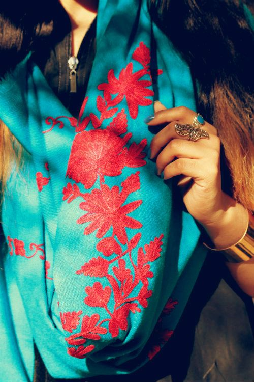 Beautiful Kashmiri Winter Shawls Designs Collection 2019 for Women
