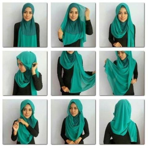 Latest Hijab Style DesignTrends & Tutorial For Girls 2015-2016 with Pictures (12)