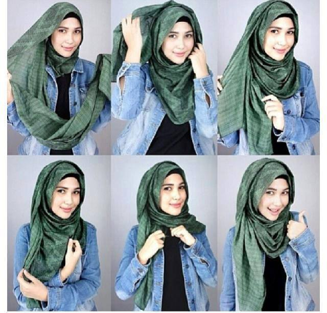 Latest Hijab Style DesignTrends & Tutorial For Girls 2015-2016 with Pictures (15)