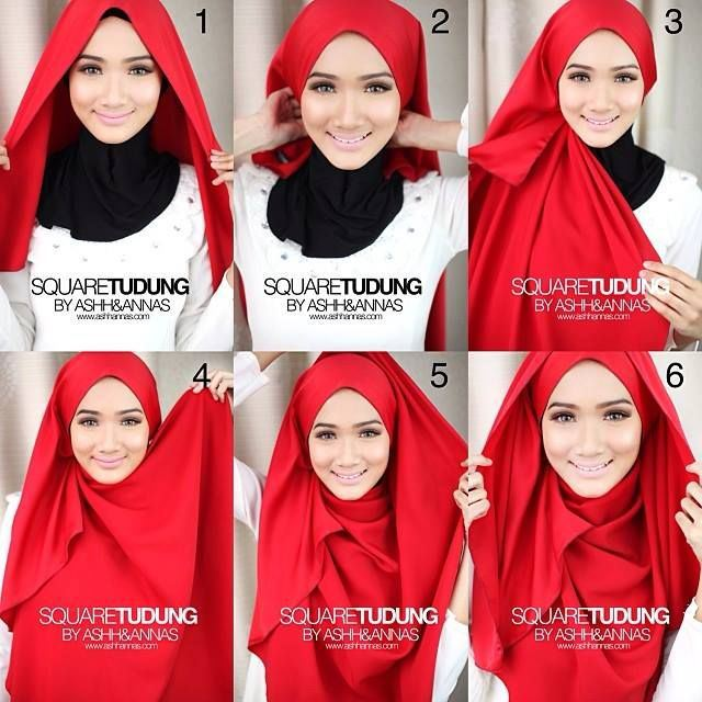 Latest Hijab Style DesignTrends & Tutorial For Girls 2015-2016 with Pictures (23)