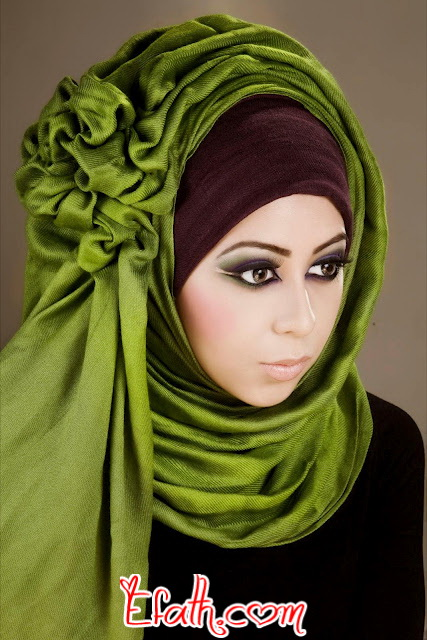 Latest Hijab Style DesignTrends & Tutorial For Girls 2015-2016 with Pictures (24)