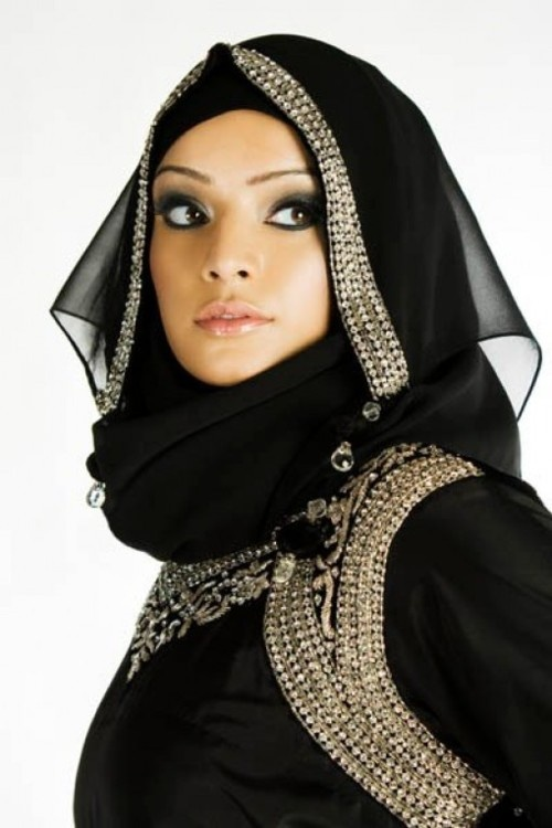 Latest Hijab Style DesignTrends & Tutorial For Girls 2015-2016 with Pictures (31)