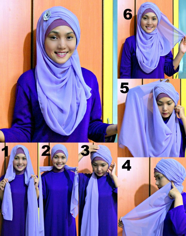 Latest Hijab Style DesignTrends & Tutorial For Girls 2015-2016 with Pictures (40)