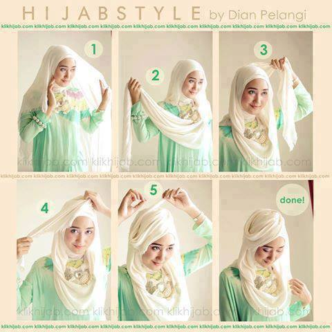 Latest Hijab Style DesignTrends & Tutorial For Girls 2015-2016 with Pictures (42)