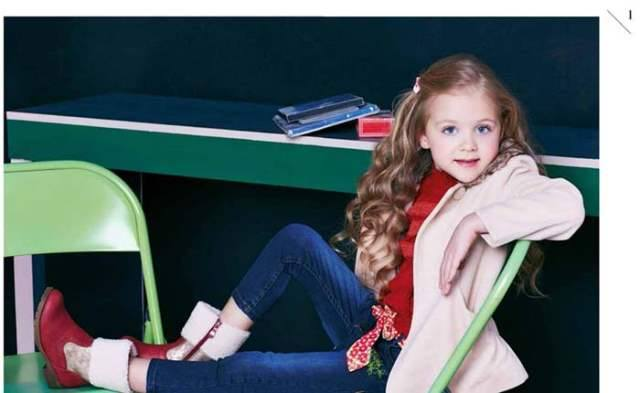 Latest Kids Dresses designs 2015 by Breakout Winter Collection 2014-2015 (14)