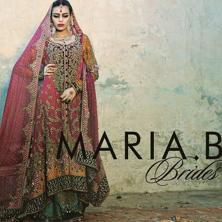 Maria B Bridal Dresses Collection (14)