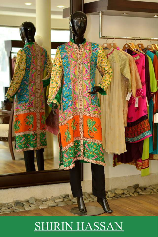 New Digital Kurtis & Suits By Shirin Hassan Winter Collection 2015 (23)
