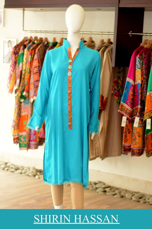 New Digital Kurtis & Suits By Shirin Hassan Winter Collection 2015 (28)