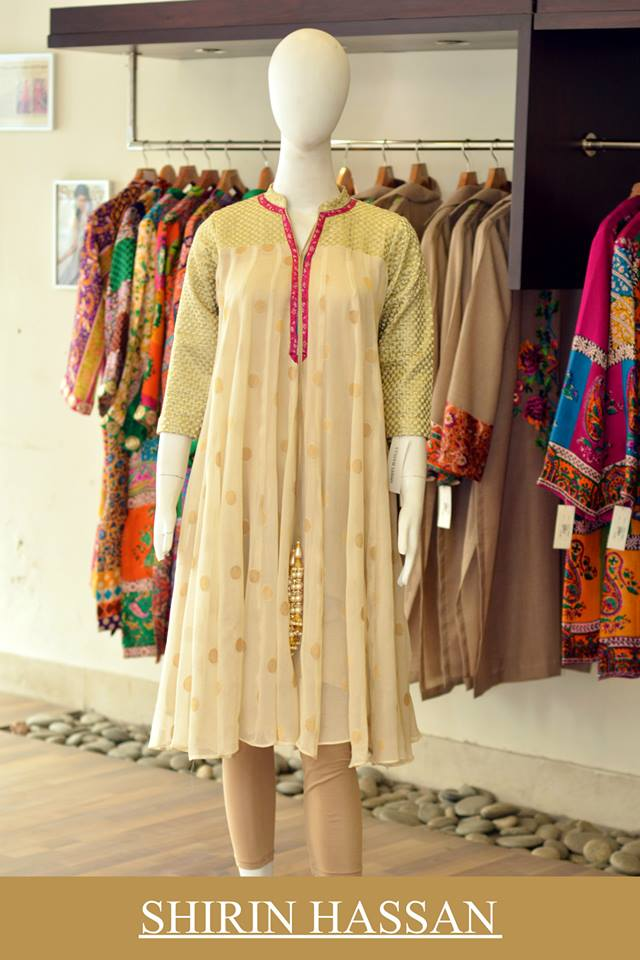 New Digital Kurtis & Suits By Shirin Hassan Winter Collection 2015 (9)