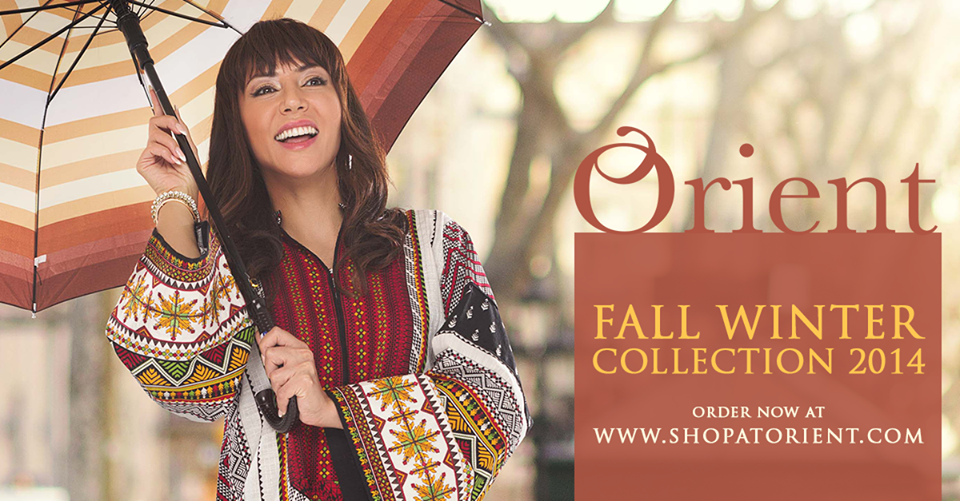Orient Textiles Latest Fall Winter Dresses Collection for Women 2019
