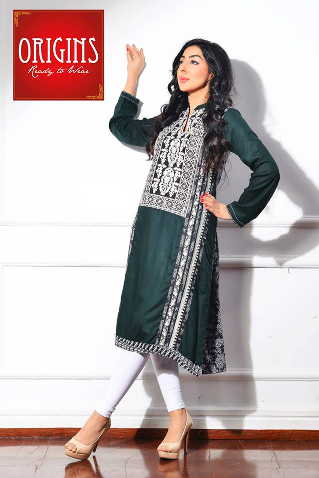 Origins Latest Winter Collection Trendy Dresses for Modern Women 2015-2016 (11)