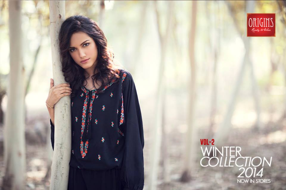 Origins Latest Winter Collection Trendy Dresses for Modern Women 2015-2016 (14)