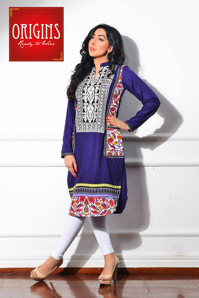 Origins Latest Winter Collection Trendy Dresses for Modern Women 2015-2016 (15)