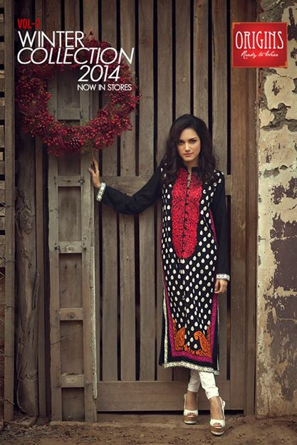 Origins Latest Winter Collection Trendy Dresses for Modern Women 2015-2016 (17)
