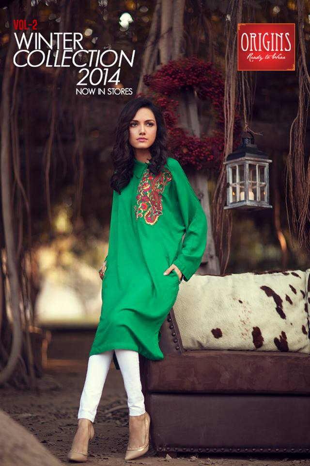 Origins Latest Winter Collection Trendy Dresses for Modern Women 2015-2016 (19)