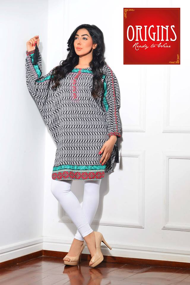 Origins Latest Winter Collection Trendy Dresses for Modern Women 2015-2016 (2)