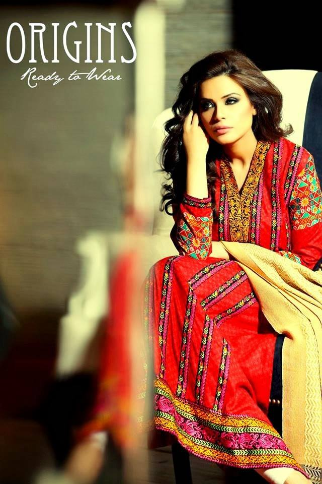Origins Latest Winter Collection Trendy Dresses for Modern Women 2015-2016 (24)
