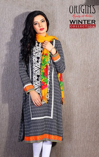 Origins Latest Winter Collection Trendy Dresses for Modern Women 2015-2016 (27)