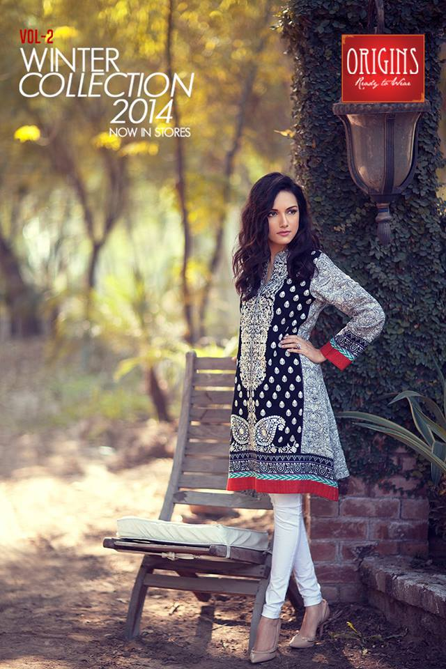 Origins Latest Winter Collection Trendy Dresses for Modern Women 2015-2016 (3)