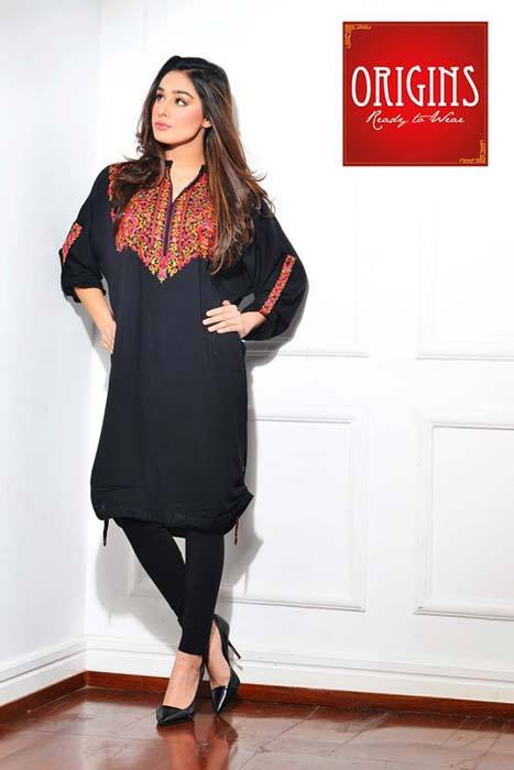 Origins Latest Winter Collection Trendy Dresses for Modern Women 2015-2016 (30)