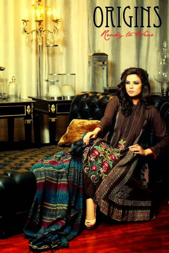 Origins Latest Winter Collection Trendy Dresses for Modern Women 2015-2016 (33)