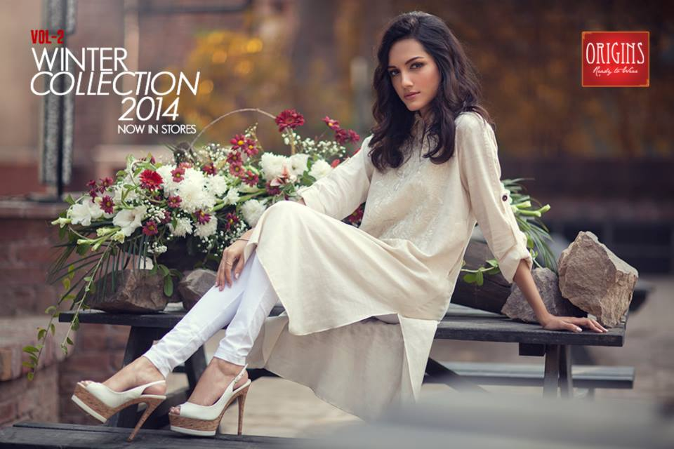 Origins Latest Winter Collection Trendy Dresses for Modern Women 2015-2016 (4)
