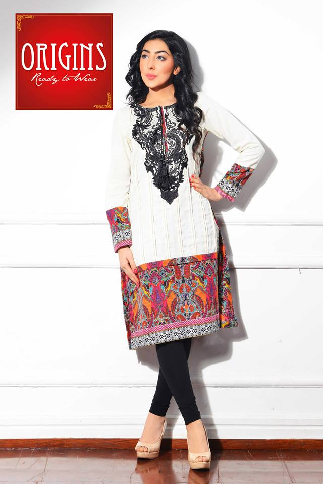 Origins Latest Winter Collection Trendy Dresses for Modern Women 2015-2016 (7)
