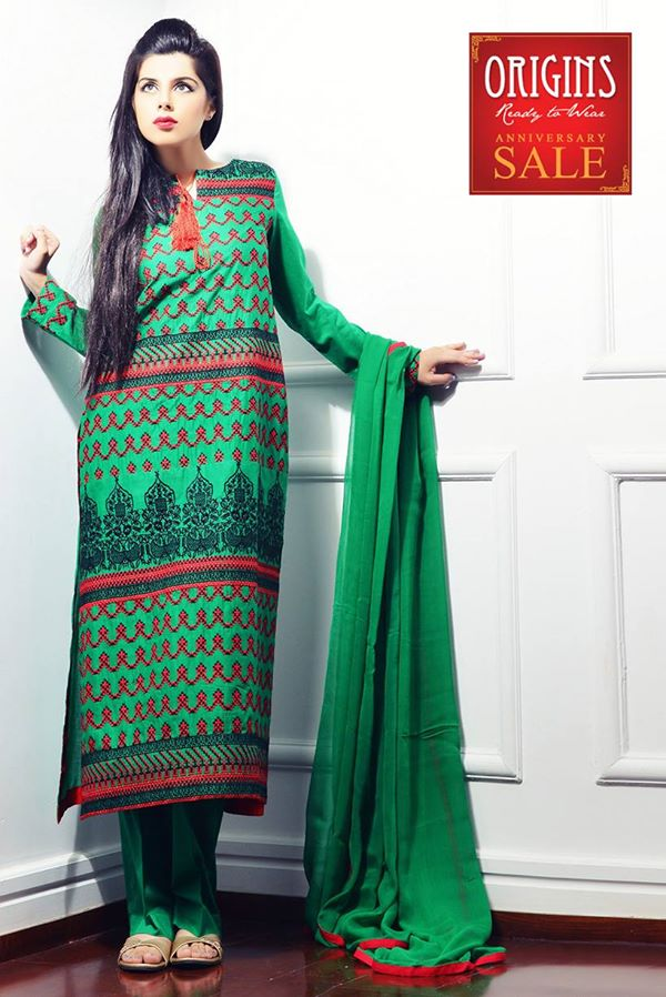 Origins Latest Winter Collection Trendy Dresses for Modern Women 2015-2016 (8)