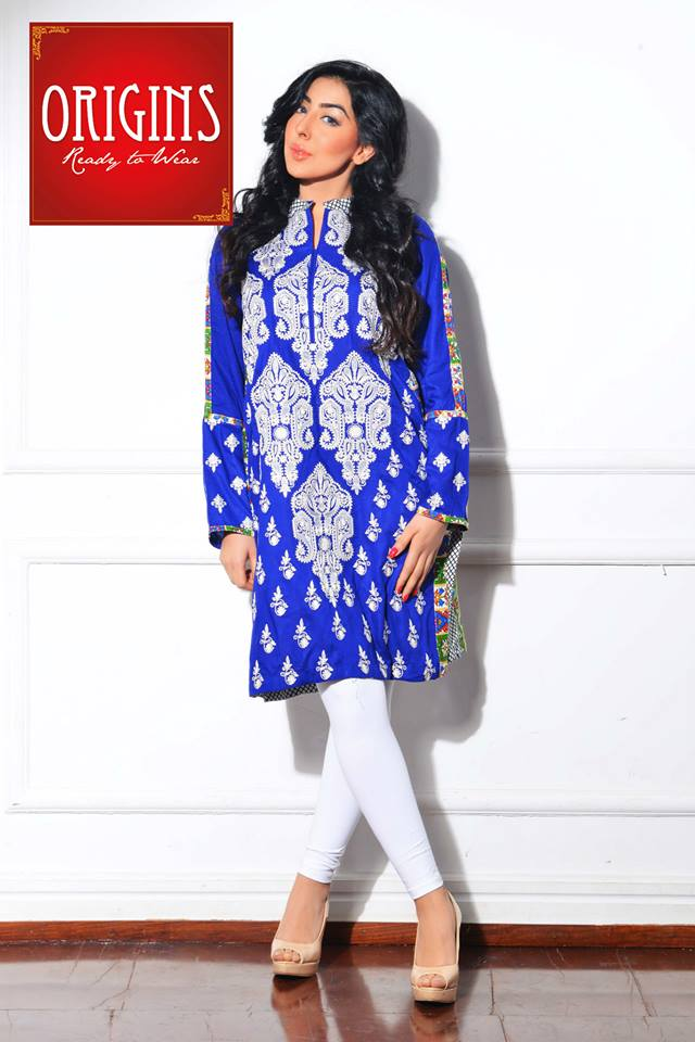 Origins Latest Winter Collection Trendy Dresses for Modern Women 2015-2016 (9)