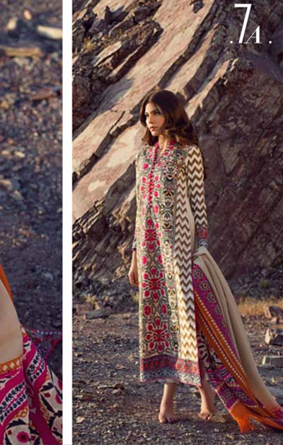 Sana Safinaz Latest Winter Shawls Collection Designer Ready Made Dresses for Women 2014-2015 (20)