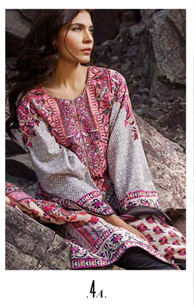 Sana Safinaz Latest Winter Shawls Collection Designer Ready Made Dresses for Women 2014-2015 (6)