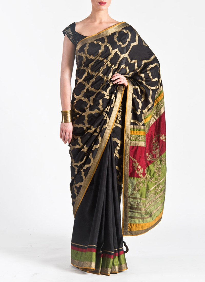 Satya Paul Indian Designer Saree Designs Collection 2015-2016 for Weddings & Parties (4)