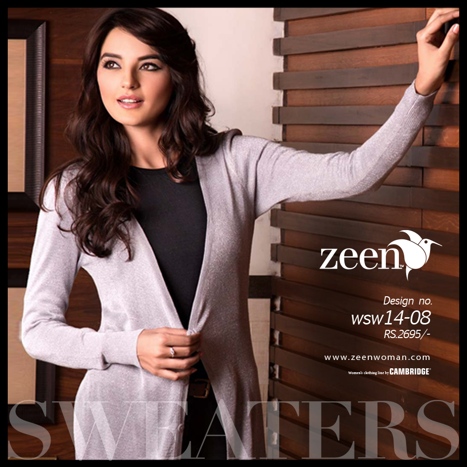 Zeen Cambrige Latest Winter Sweaters Designs & Hoodies Collection for Women 2014-2015 (1)