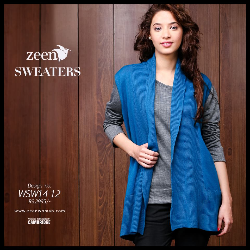 Zeen Cambrige Latest Winter Sweaters Designs & Hoodies Collection for Women 2014-2015 (12)